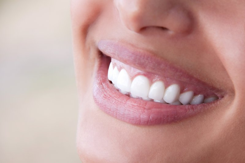 Beautiful smile improved by your Frisco cosmetic dentist